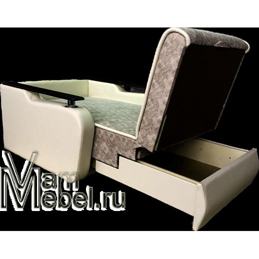 Кресло кровать Виктория с деревянными подлокотниками
