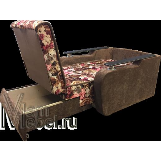 Кресло кровать Виктория-Д велюр Розы