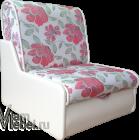 Кресло кровать жаккард Арабелла+кожзам