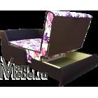 Кресло кровать Виктория-1 Ирис с темным кожзамом