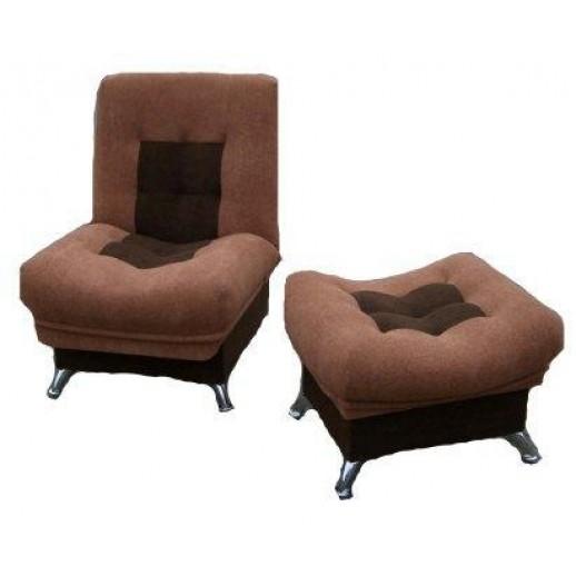 Кресло кровать Лиза (с пуфом) со склада