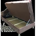 Угловая тахта Мария 70х190 велюр Волна со склада
