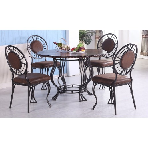 Комплект обеденной мебели из метала МИК- 48