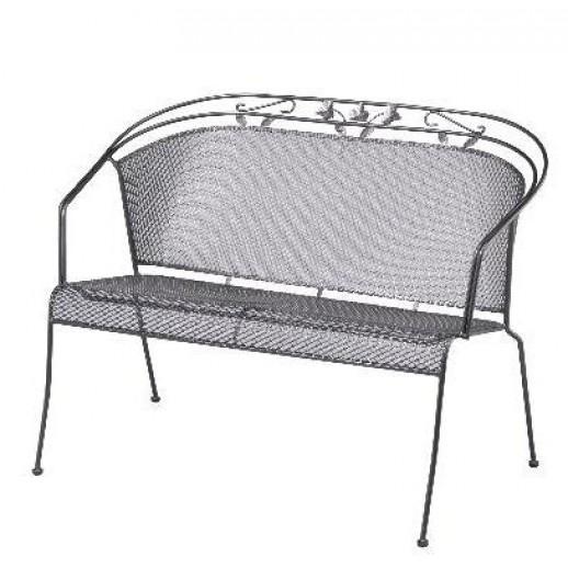 Скамейка из металла Toledo