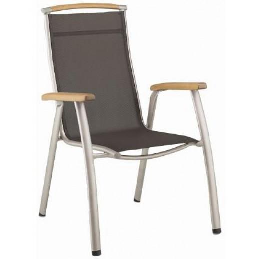 Кресло складное из металла и текстилена Memphis (Кеттлер)