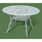 Стол из металла круглый 193Т (Белый)