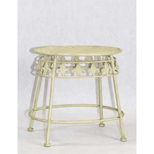 Столик из металла приставной (мол. с золотом)