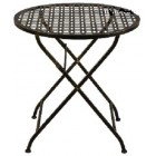 Стол из металла складной 130655 (бронза)