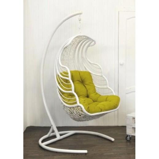 """Кресло подвесное из искусственного ротанга """"Шелл"""""""
