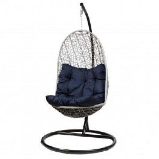 Кресло подвесное из искусственного ротанга КМ-1017