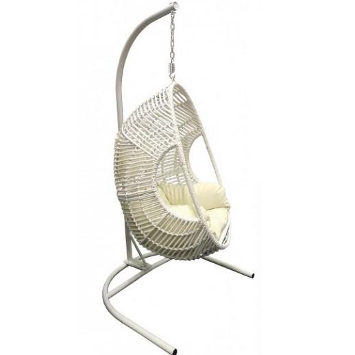 Кресло подвесное из искусственного ротанга МТ02