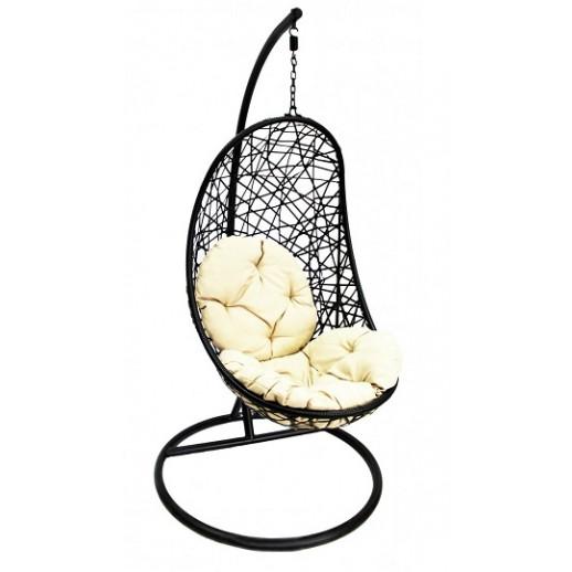 Кресло подвесное из искусственного ротанга МТ04