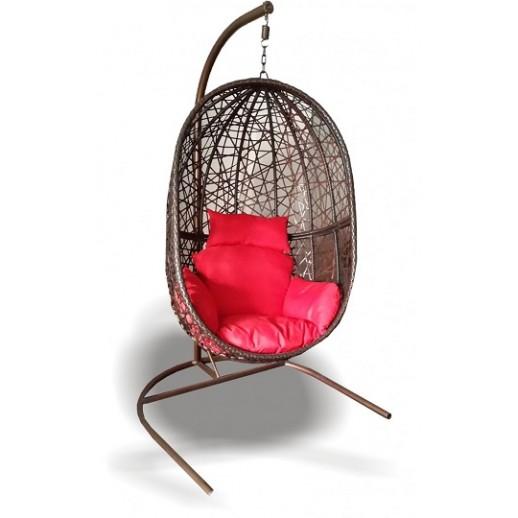 Кресло подвесное из искусственного ротанга МТ09