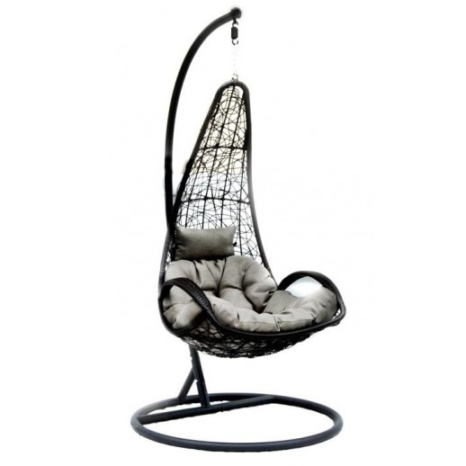 Подвесные качели из искусственного ротанга