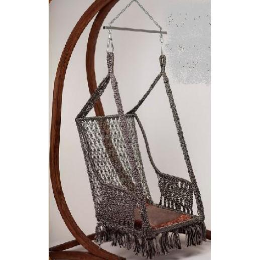 """Комплект подвесное кресло с каркасом из дерева """"Инка"""" (ВФ)"""