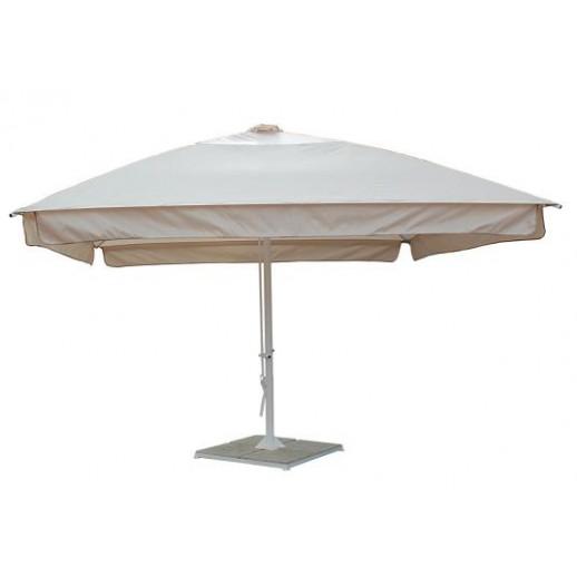 Зонт для кафе квадратный 3х3 СТМИТ с подставкой(беж)