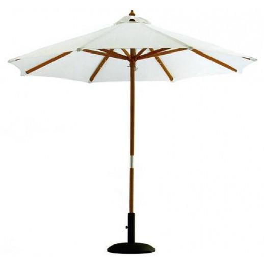 Зонт для кафе круглый диам.3.0м S300 светлобежевый (без подставки, с чехлом)