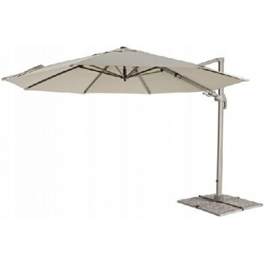 """Зонт для кафе с боковой стойкой """"Лечче"""" д.3.7м с крестовиной"""