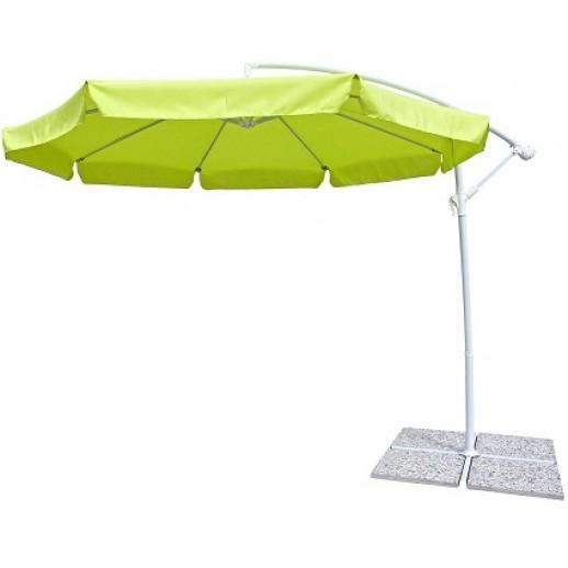 """Зонт для кафе с боковой стойкой """"Парма"""" д.3.0м с крестовиной"""