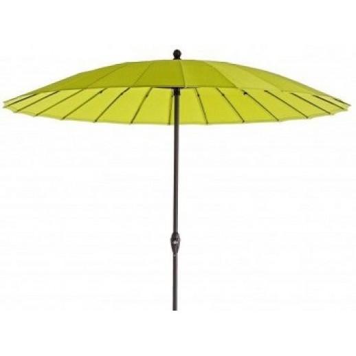 """Зонт пляжный круглый с наклоном купола""""Флоренция"""" д.2.7м (зеленый)"""