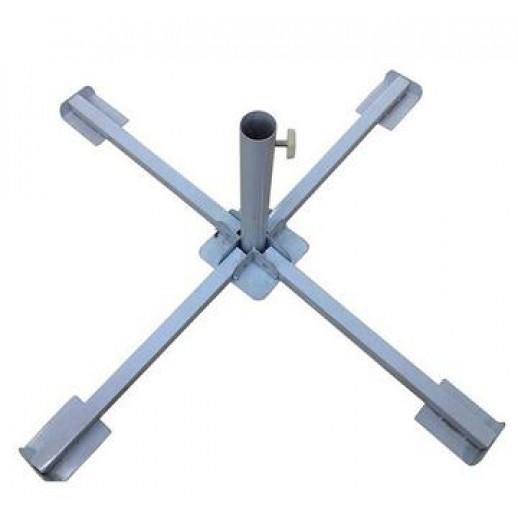 Подставка для зонта из металла крестовая