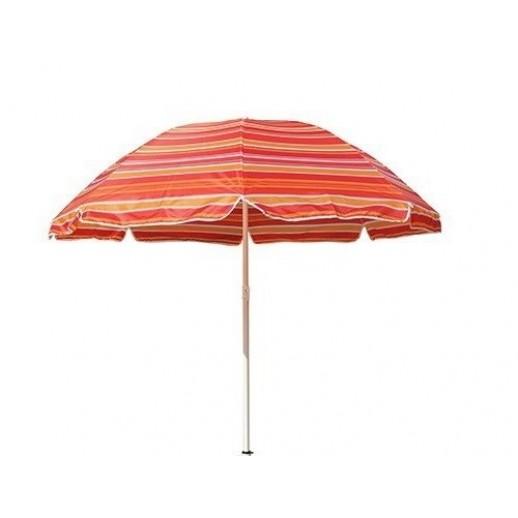 Зонт пляжный д.240 (красная полоса)