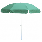 Зонт пляжный круглый диам.1.8м с наклоном купола (зеленый)