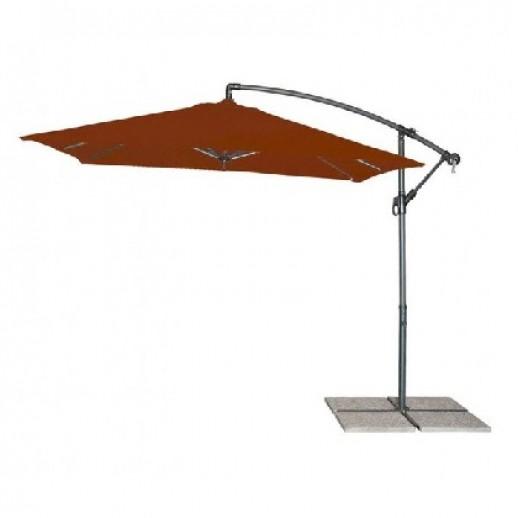 Зонт круглый д.3.0м с боковой стойкой Панда Кеттлер (цвет терракот)
