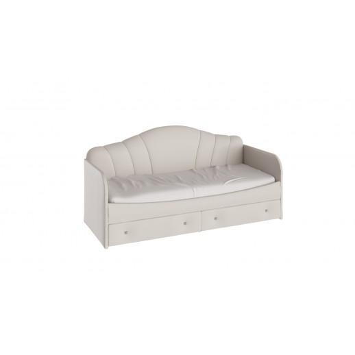 Кровать с мягкой спинкой Сабрина (кашемир). АКЦИЯ!