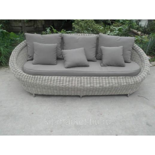 Мебель садовая из искусственного ротанга