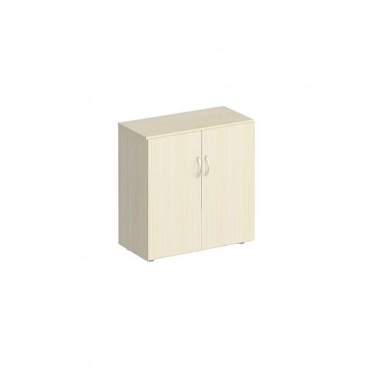 Шкаф для документов низкий закрытый дуб шамони