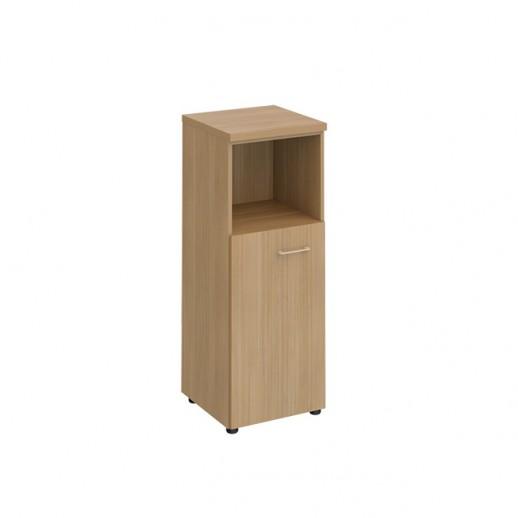 Шкаф для документов средний узкий полузакрытый сакура