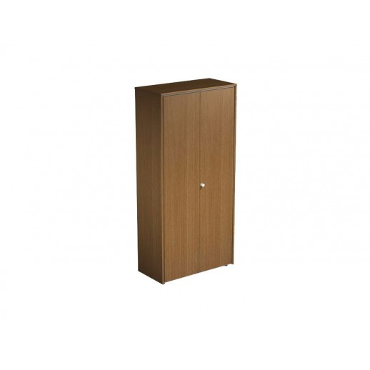 Шкаф для одежды орех ногаро/белый премиум