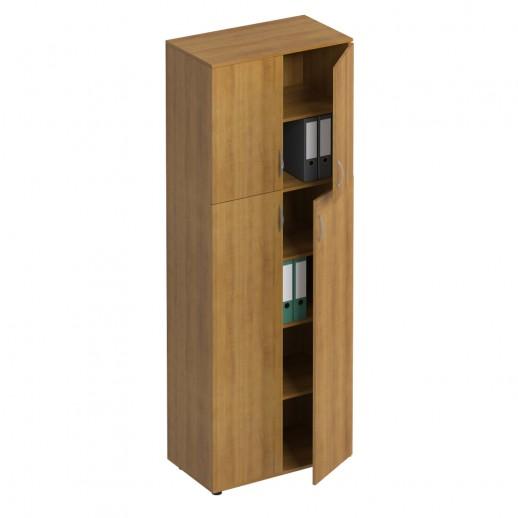 Шкаф для документов закрытый 4- дверный орех натуральный
