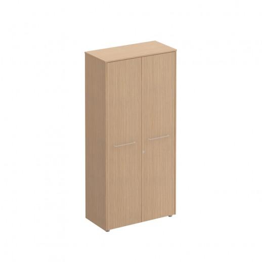 Шкаф для документов закрытый зебрано песочный