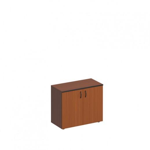 Шкаф низкий двухдверный австрийский орех