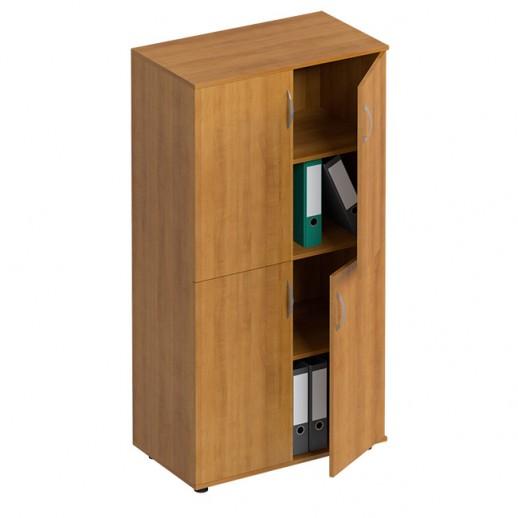 Шкаф для документов 4-дверный орех натуральный