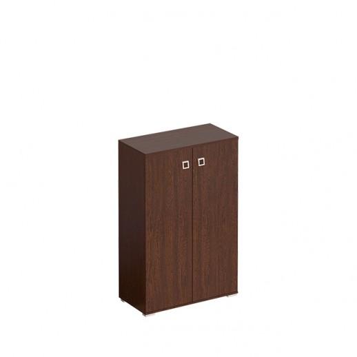Шкаф для документов закрытый средний венге виктория