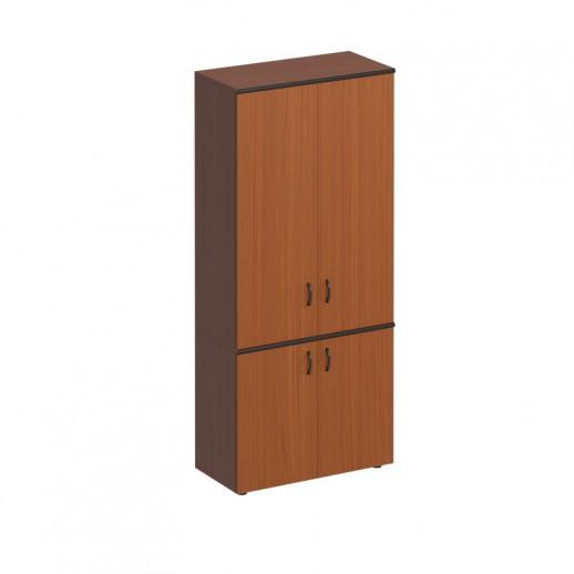 Шкаф для документов закрытый высокий австрийский орех