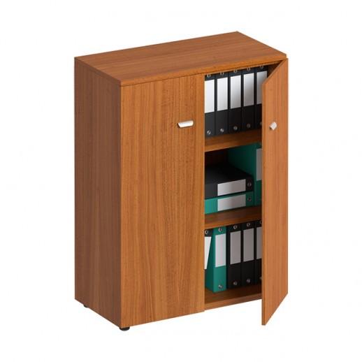 Шкаф для документов средний закрытый испанский орех