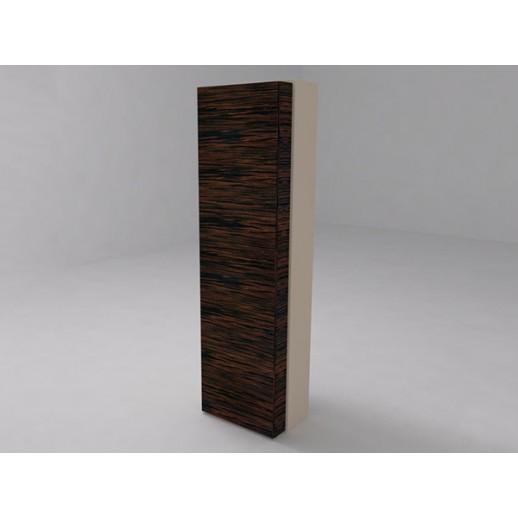 Шкаф высокий c двумя глухими дверьми светлый бук (меламин)
