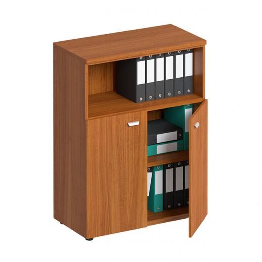 Шкаф для документов средний полузакрытый испанский орех