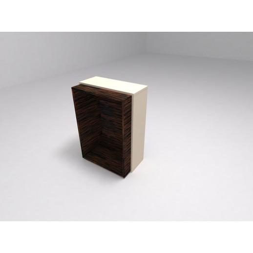 Шкаф низкий без дверей и полок светлый бук (меламин)