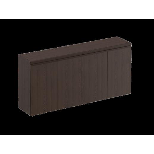 Шкаф для документов низкий закрытый дуб альпийский