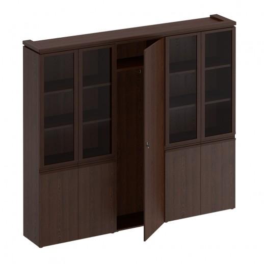 Шкаф комбинированный дуб альпийский