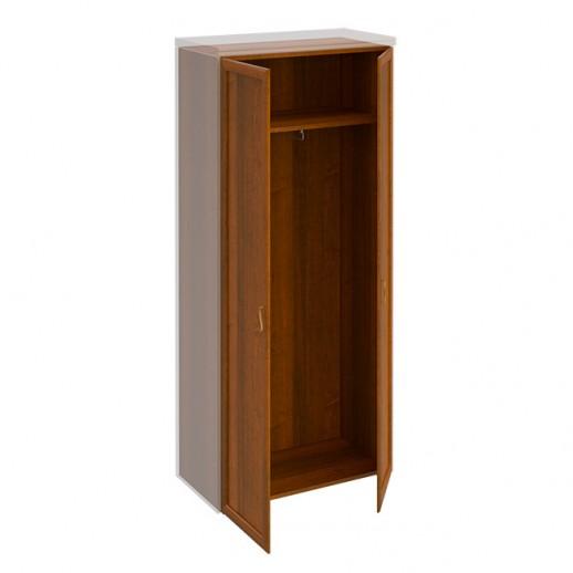 Шкаф для одежды темный орех