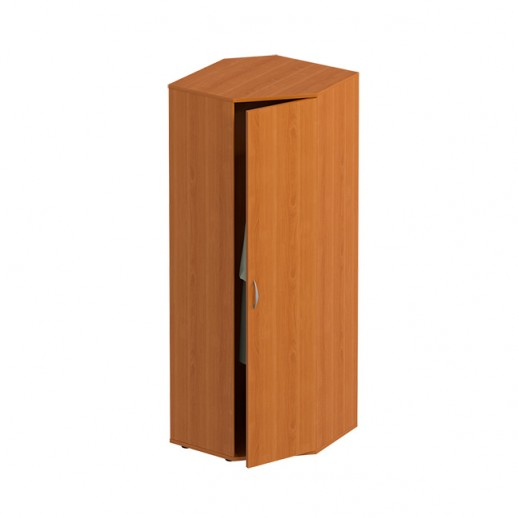 Шкаф угловой для одежды ольха