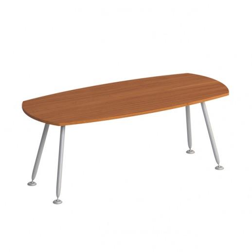 Стол для переговоров (металлокаркас МА) испанский орех